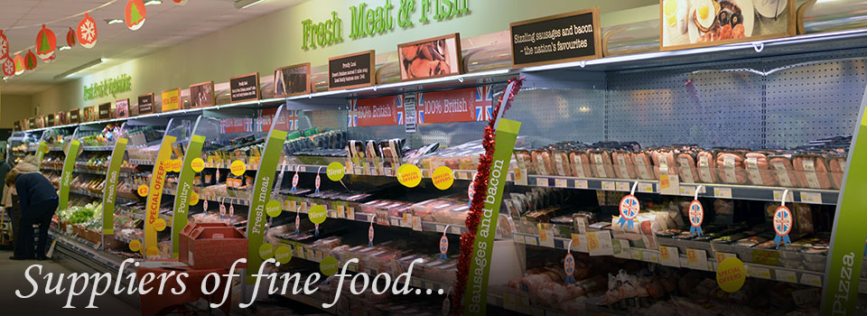 Suppliers of fine food (Budgens of Holt)
