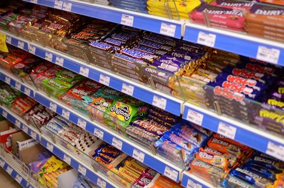 Sweets at Briston Stores