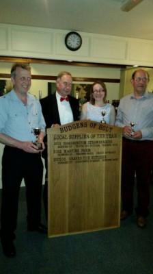 award budgens